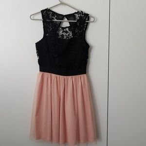 Black and pink dress!